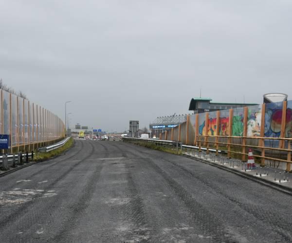 Weekendafsluiting A32 voor rijbaan richting Leeuwarden