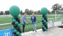 Nieuw kunstgrasveld VV Heerenveense Boys officieel in gebruik genomen