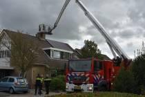 Brandweer rukt uit voor schoorsteenbrand aan de Zwette