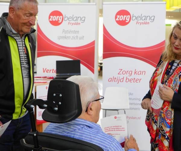 Zorgbelang Fryslân gaat naar de mensen toe om te luisteren naar hun ervaringen tijdens de COVID -periode