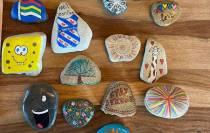 Ook Akkrum en Nes in de ban van Happy Stones