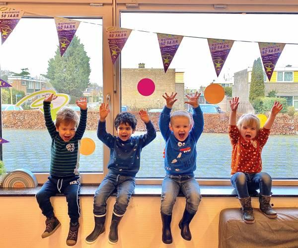 Kinderwoud Kinderopvang viert vijftig jarig bestaan