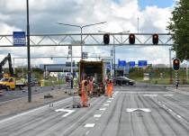 K.R. Poststraat maandagochtend weer open voor verkeer