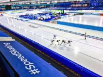 FOTO'S / IJsstadion Thialf vijf weken thuisbasis van internationale schaatsbubbel