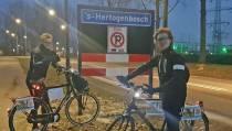 Sam Mebius (19) haalt met fietstocht tegen diabetes bijna 25.000 euro binnen