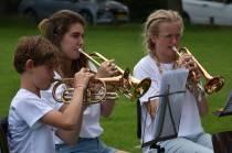 B-orkest van Pro Rege geeft buitenconcert