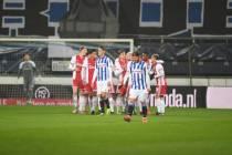 sc Heerenveen verliest van Ajax in de halve finale KNVB Beker
