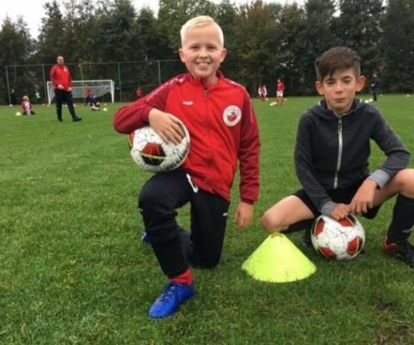 Gratis open voetbaltraining voor kinderen bij VV Nieuweschoot