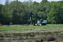 Aanleg zonnepark aan de Omweg in Heerenveen van start
