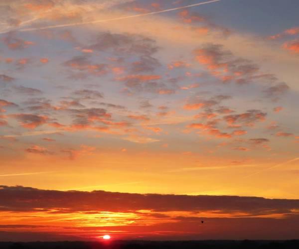 Zomaar een plaatje: Een fraaie zonsopkomst