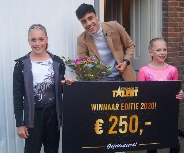 Casey-Jane Meuleman wint Heerenveen's Got Talent 2020