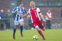 sc Heerenveen huurt Kelly Zeeman van Ajax