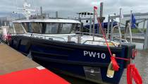 Duurzaam inspectieschip officieel gedoopt