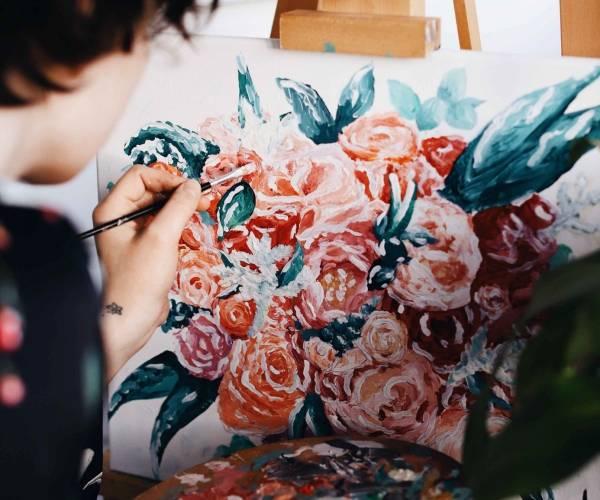 Zo kun je je als volwassene vermaken door te schilderen