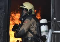 Bevelvoerders brandweer Fryslân oefenen