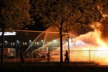 Ruim duizend kliko's in brand op bedrijventerrein in Gorredijk