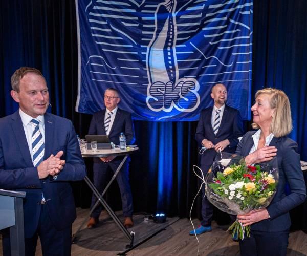 Hilda Boesjes benoemd tot erelid SKS tijdens digitale jaarvergadering