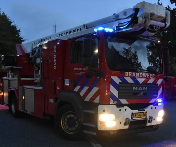Gewonde bij woningbrand in Oudeschoot