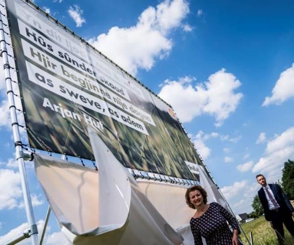 Shell van start met bouw zonnepark aan zuidkant van Heerenveen