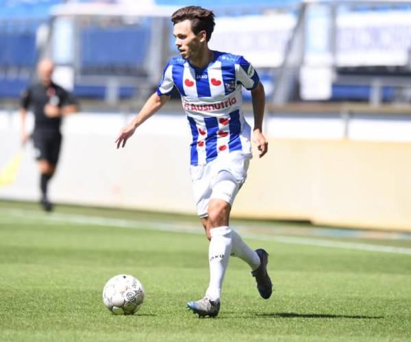 sc Heerenveen is Vitesse niet de baas in oefenduel