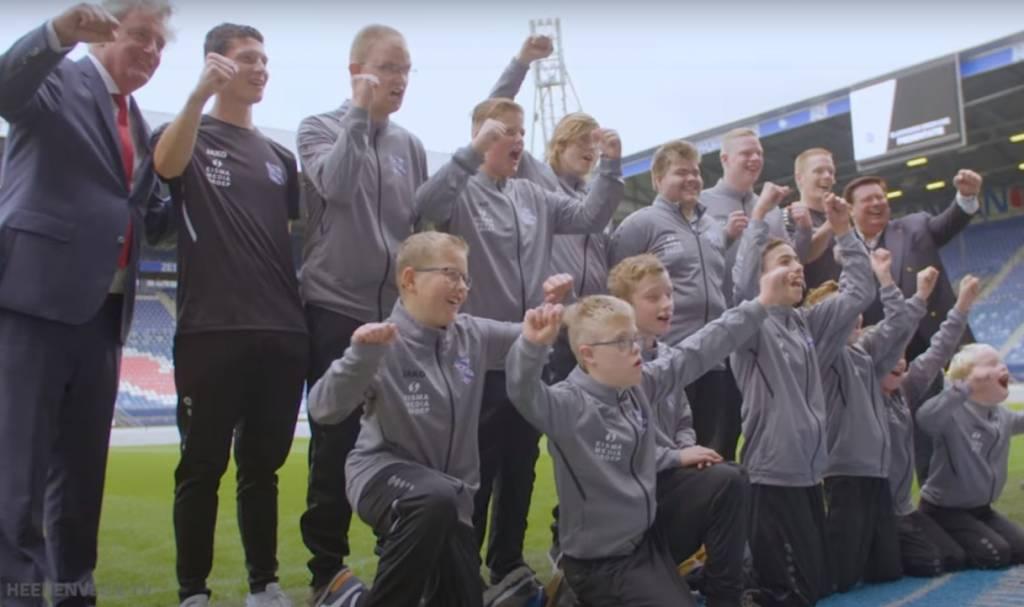 Gamers G-team sc Heerenveen signal contract
