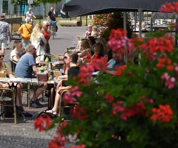 Heerenveen verlengt regeling uitbreiden terrassen