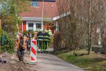 Brandweer Akkrum rukt uit voor gaslek in Terherne