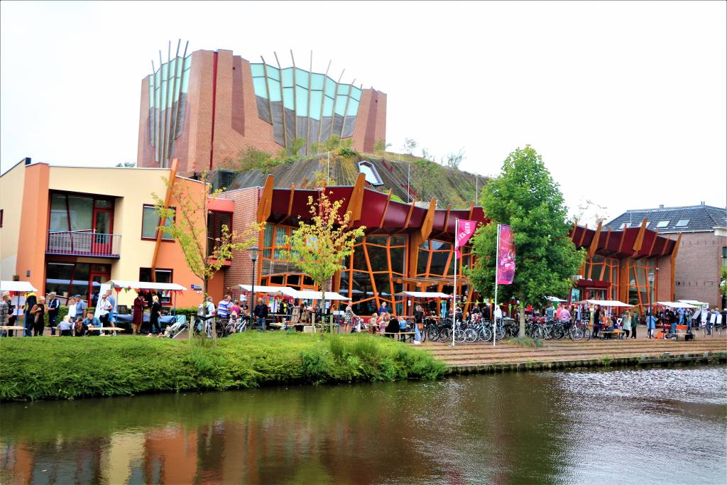 Theater Sneek, afgelopen zaterdag tijdens UIT Festival SWF