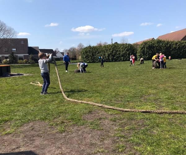 Na drukbezochte eerste editie vervolg jeugdbootcamp Wijkvereniging Nijehaske