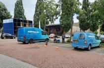 WoonFriesland doet technische inspectie van huizen met drone