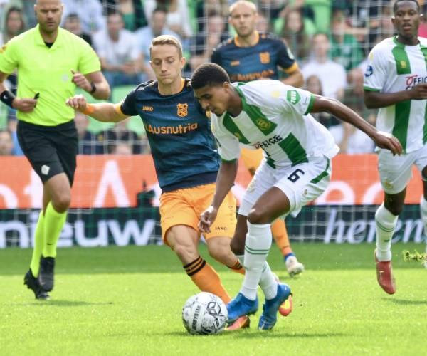 sc Heerenveen verspeelt voorsprong tegen FC Groningen