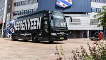 Nieuwe spelersbus sc heerenveen