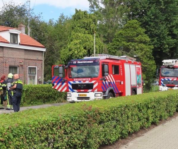 Brandweer rukt uit voor pannetje op het vuur in Oudehaske