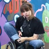 Paralympisch sporter en model Elke Lale van Achterberg te gast bij Young CeO's