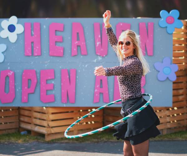 """""""Heaven Open Air Aan Tafel"""" van 13 tot 19 augustus"""