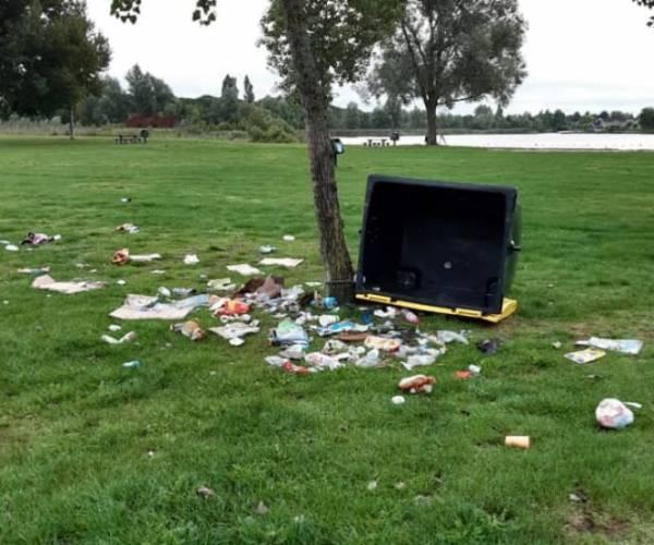 Omwonenden zijn helemaal klaar met overlast en vernielingen op De Heide