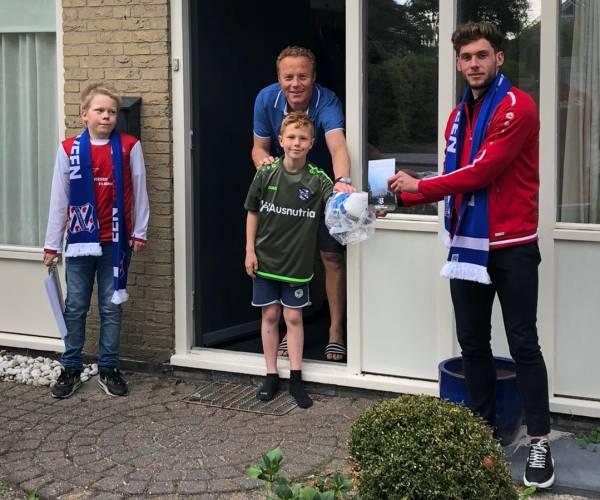 sc Heerenveen bezoekt supporters tijdens #EenmetHeerenveen Tour