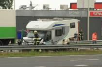 Ravage na ernstig ongeval op A32 tussen Wolvega en Heerenveen
