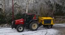 Zaterdag in de loop van de dag mogelijk enige tijd sneeuwval