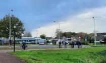 Fietser gewond bij aanrijding op rotonde kattebos/Rottumerweg