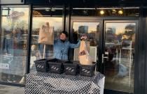 Winkels openen deuren voor afhalen bestellingen
