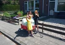 Sarah, Fiona en Lisan in actie voor Limburg