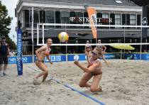 Ook zondag Eredivisie beachvolleybal in centrum Heerenveen