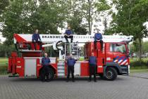 """Vaders en zoons bij de Heerenveense brandweer """"Besmet met het brandweervirus"""""""