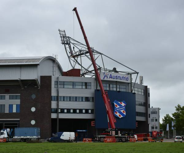 Veolia vervangt lichtinstallatie Abe Lenstra Stadion