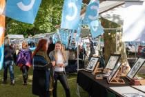 Cultuurplein(markt) op zaterdag 12 september