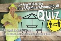 DJ Maarten met terrasquiz