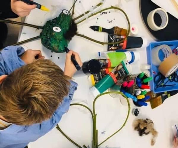 Kinderen kunnen volop culturen tijdens Kinderkunstweek in de herfstvakantie