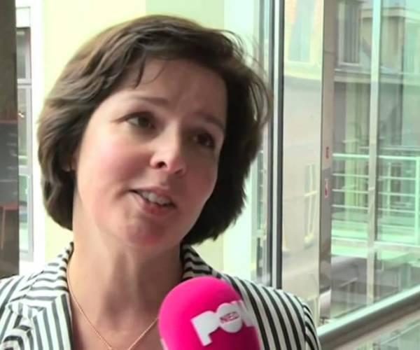 Tineke Huizinga uit Heerenveen fractievoorzitter van de ChristenUnie in de Eerste Kamer