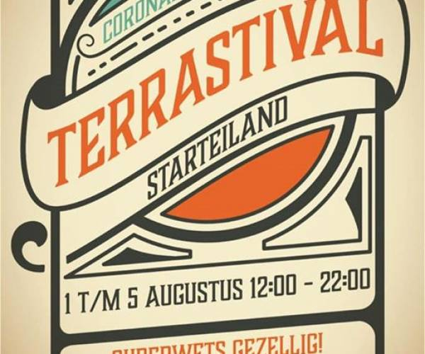 't Foarûnder organiseert Terrastival Starteiland
